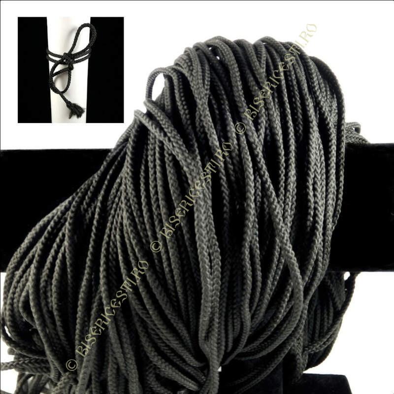 Obiecte bisericesti   Sfoara   Fir textil impletit pentru impletit 3mm   6319