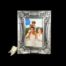 Obiecte bisericesti | Rama foto din plastic argintiu antichizat | 3506
