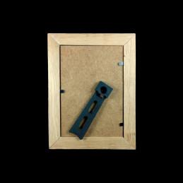 Obiecte bisericesti | Rama foto din lemn maro natur | 3512