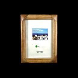 Obiecte bisericesti | Rama foto din lemn maro natur | 3513