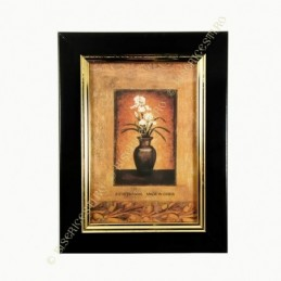 Obiecte bisericesti | Rama foto din plastic negru | 3514