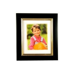 Obiecte bisericesti   Rama foto din plastic negru   3515