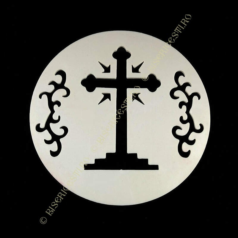 Obiecte bisericesti   Forme pentru coliva cu cruce   5601