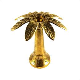Obiecte bisericesti | Sfesnic pentru 1 lumanare din metal 17cm  | 5404