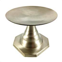 Obiecte bisericesti | Sfesnic pentru 1 lumanare din metal 9cm  | 5405