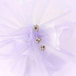 Obiecte bisericesti bile | Margele rotunde de trecere 8mm | 6042