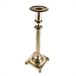 Obiecte bisericesti | Sfesnic pentru 1 lumanare din metal 39cm  | 5409