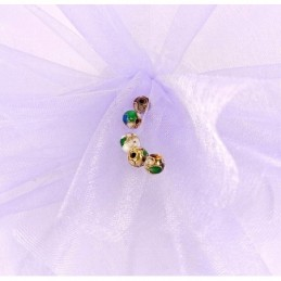 Obiecte bisericesti bile | Margele rotunde de trecere 6mm | 6046