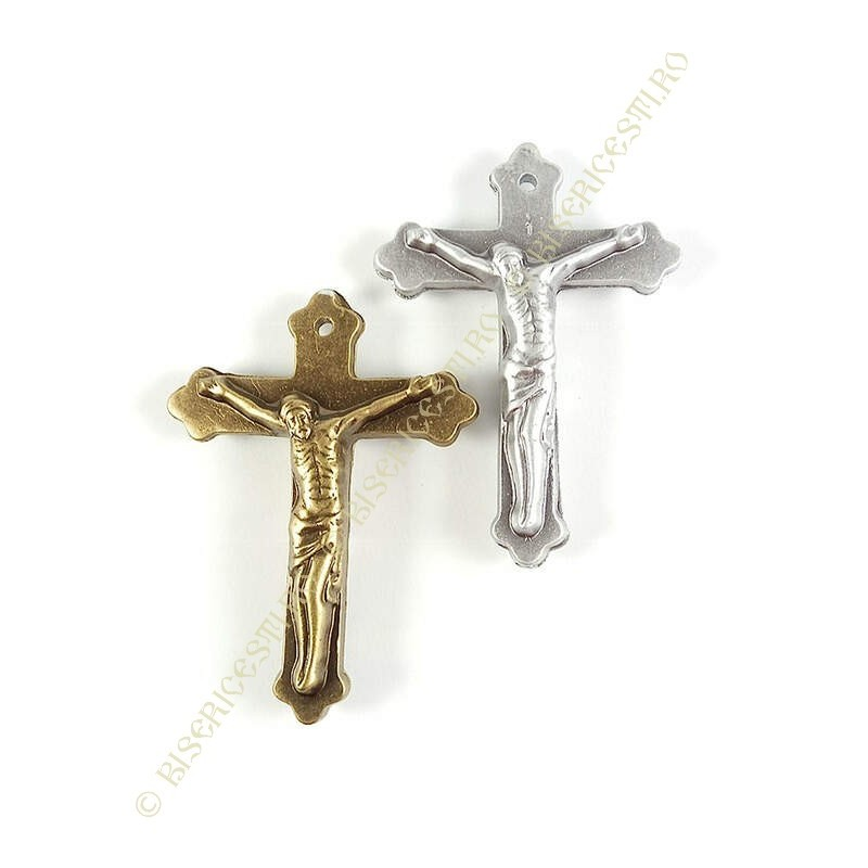 Obiecte bisericesti | Medalion cruce de plastic 60mm | 2006