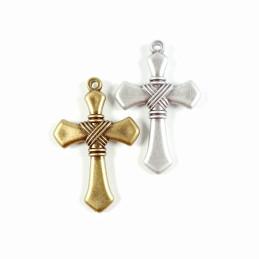 Obiecte bisericesti | Medalion cruce de plastic 60mm | 2007