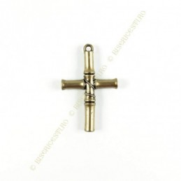 Obiecte bisericesti | Medalion cruce de plastic 60mm | 2008