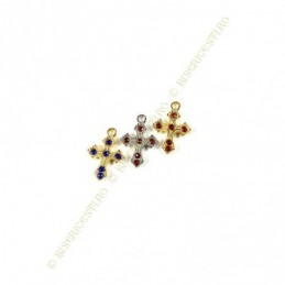 Obiecte bisericesti | Medalion cruce metalica  15mm | 2009