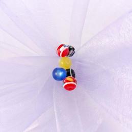 Obiecte bisericesti bile | Margele rotunde de trecere 6mm | 6051