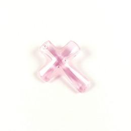 Obiecte bisericesti | Medalion cruce de plastic  35mm | 2053