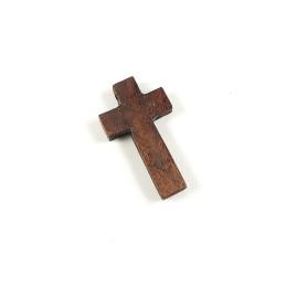 Obiecte bisericesti   Medalion cruce de lemn 40mm   2079