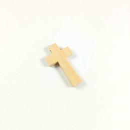 Obiecte bisericesti | Medalion cruce de lemn 42mm | 2085