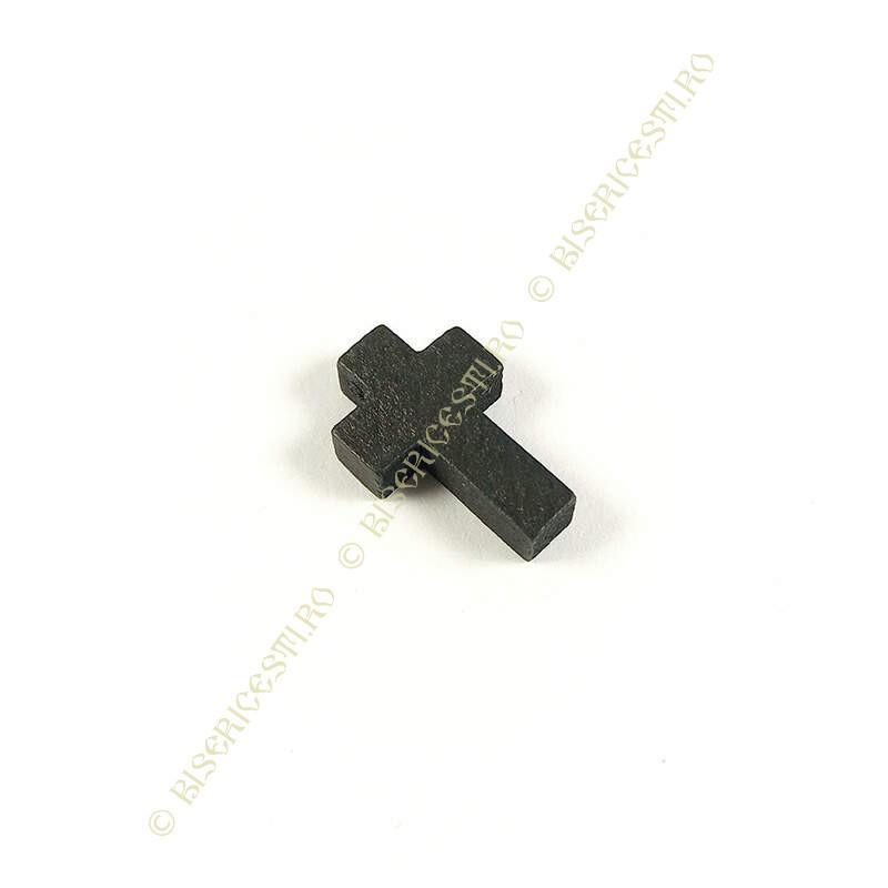Obiecte bisericesti | Medalion cruce de lemn 22mm | 2088
