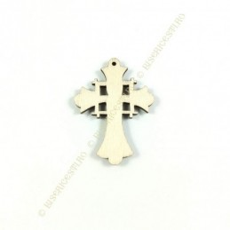 Obiecte bisericesti | Medalion cruce de lemn 45mm | 2094