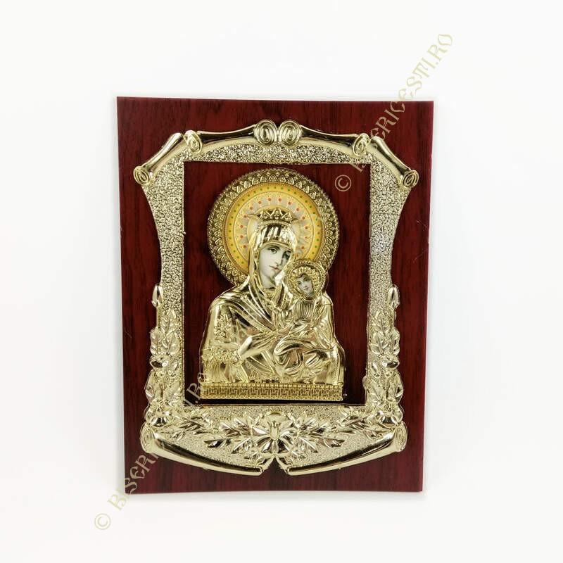 Obiecte bisericesti   Icoana Maicii Domnului   din plastic turnat   4004