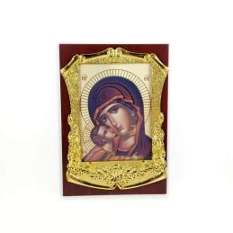 Obiecte bisericesti | Icoana Maicii Domnului | litografie | 4014