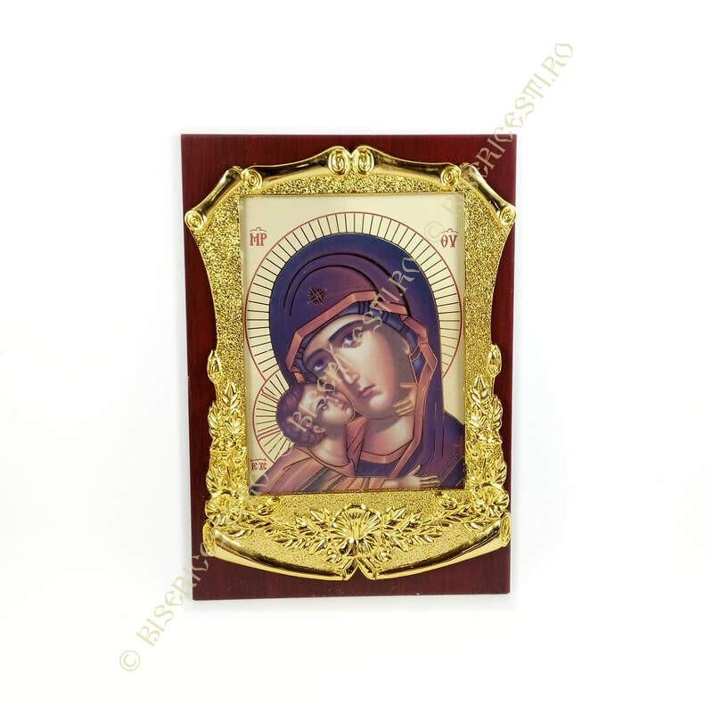 Obiecte bisericesti   Icoana Maicii Domnului   litografie   4014