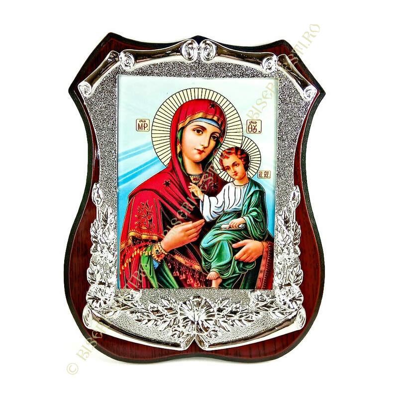 Obiecte bisericesti | Icoana Maicii Domnului | litografie | 4038