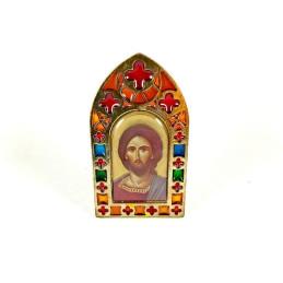 Obiecte bisericesti | Icoana Maicii Domnului | tip vitraliu | 4045