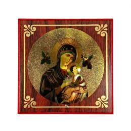 Obiecte bisericesti   Icoana Maicii Domnului   litografie   4058