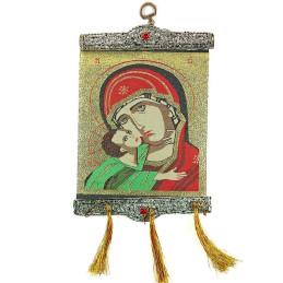 Obiecte bisericesti | Icoana Maicii Domnului | tesuta | 4064