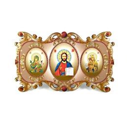 Obiecte bisericesti | Icoana Maicii Domnului | cu trei litografii | 4088