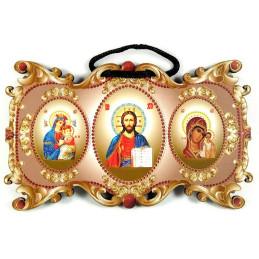 Obiecte bisericesti | Icoana Maicii Domnului | cu trei litografii | 4089