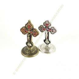 Obiecte bisericesti | Cruce pentru masa sau perete din metal | 5303