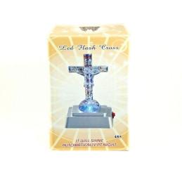 Obiecte bisericesti | Cruce cu led din plastic | 5308