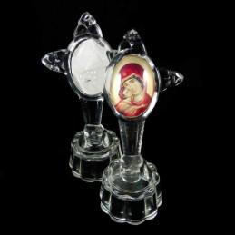 Obiecte bisericesti | Cruce pentru masa din sticla | 5313