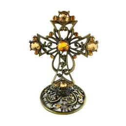 Obiecte bisericesti | Cruce pentru masa din metal | 5321