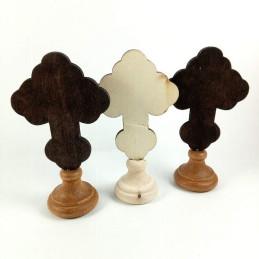 Obiecte bisericesti | Cruce pentru masa din lemn | 5322