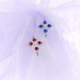 Obiecte bisericesti bile | Margele cruce de legatura 17mm | 6083