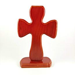 Obiecte bisericesti | Cruce pentru masa din lemn lacuit | 5333