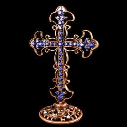 Obiecte bisericesti | Cruce pentru masa din metal | 5336