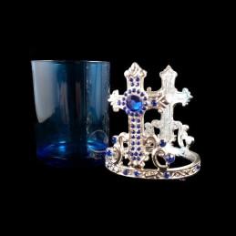 Obiecte bisericesti | Candela de masa din metal 75mm | 5100