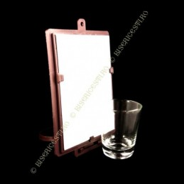 Obiecte bisericesti | Candela de perete din plastic 13cm | 5110