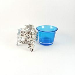 Obiecte bisericesti   Candela de masa din plastic 6cm   5113