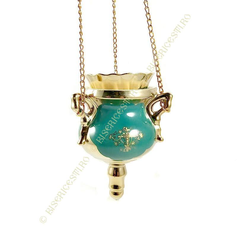 Obiecte bisericesti | Candela de perete din ceramica 145mm | 5117