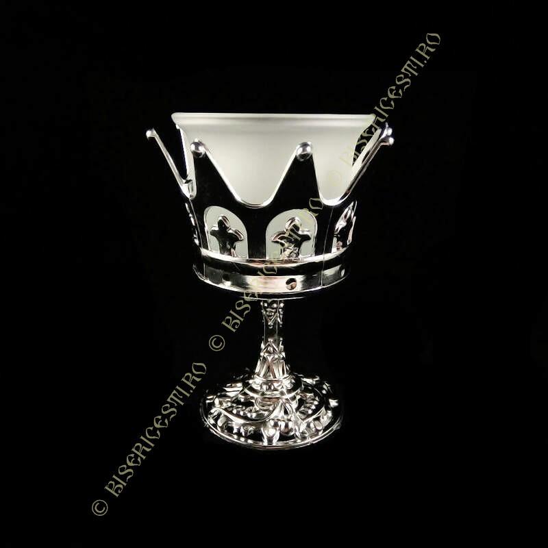 Obiecte bisericesti | Candela de masa din plastic 10cm | 5122