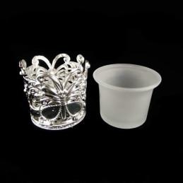 Obiecte bisericesti | Candela de masa din plastic 7cm | 5123