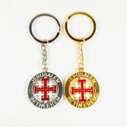 Obiecte bisericesti | Breloc cu cruce rotitoare | 1502