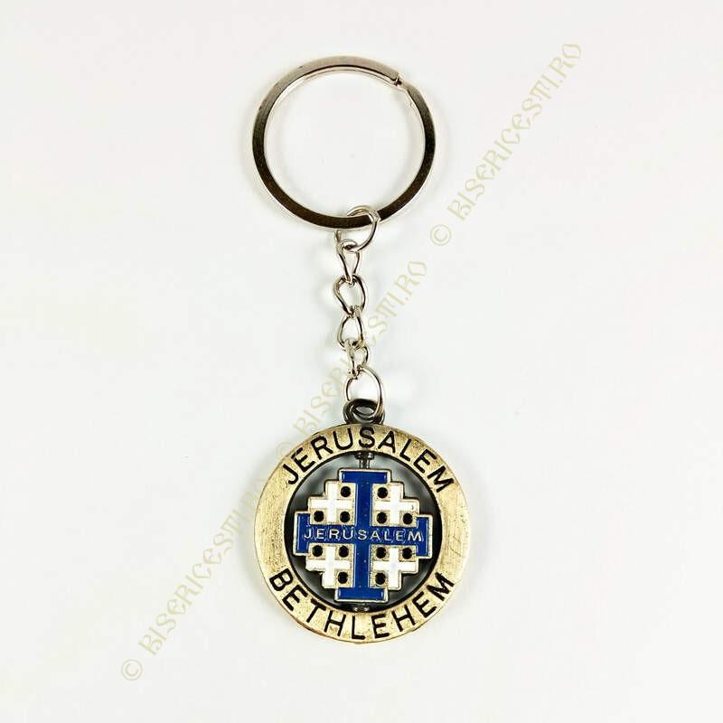 Obiecte bisericesti | Breloc cu cruce rotitoare | 1511