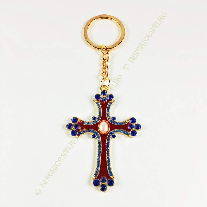 Obiecte bisericesti | Breloc cu cruce | 1514