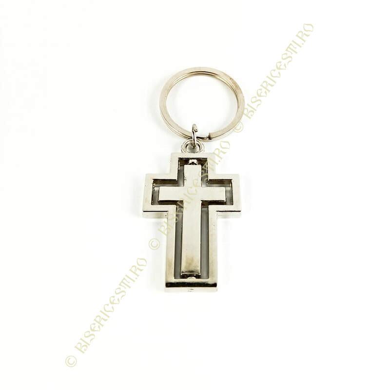 Obiecte bisericesti | Breloc cu cruce rotitoare | 1517