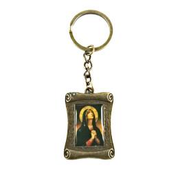 Obiecte bisericesti | Breloc cu Icoana Maicii Domnului aplicata | 1521